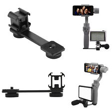 Fill Light / microphone Cold Shoes Bracket w/ Extended Arm for DJI OSMO Mobile 2