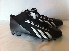 Brand New Men's Adidas FilthyQuick Mid Football cleats sz 12.5 US Black/Gray
