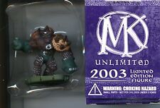 Mage Knight Unlimited 2003 Limited Edition Stonefist #166 Le Mint Wizkids