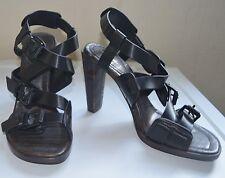3.1 Phillip Lim Strappy Black High-Heel Sandal UK6.5/EU39.5, RRP £520