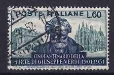 Italien Mi Nr. 852, gest., 50. Todestag Verdi 1951, used