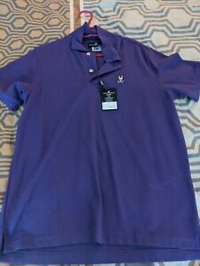 Psycho bunny polo brand new with tags, size 4 purple.