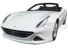 FERRARI CALIFORNIA T WHITE OPEN TOP 1/24 DIECAST MODEL CAR BY BBURAGO 26011