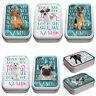 Personalised Dog Breed Tobacco Tin 2oz Smoking Baccy Srorage Pill Box Pet Treat