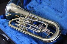 Yamaha YEP321 Euphonium Horn YEP 321 Baritone Case & Mouthpiece GREAT WORKING