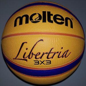 Molten 3X3 Libertria Basketball - B33T5000 FIBA Approved