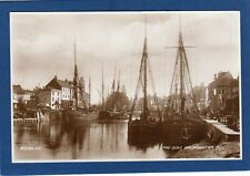 More details for the quay bridgwater sailing ships rp pc unused 1938 valentines   z172