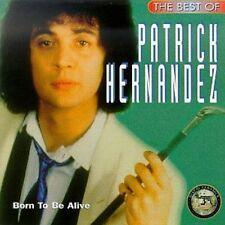 Patrick Hernandez Born to Be Alive CD-ALBUM-RAR-NUOVO OVP