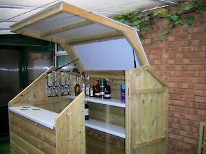 Garden bar Garden Structures outdoor bar MariniUK