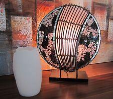 """Design Stehleuchte 30cm rund """"Pia"""" Standlampe Lampen """"schönes Design"""" 4464"""