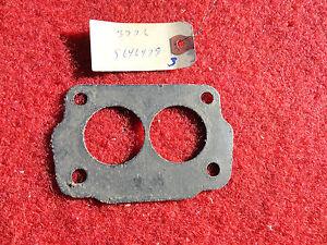 1957 1962 Pontiac NOS GM Tri Power Center Carburetor Base Gasket # 5646479