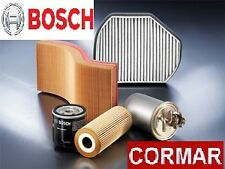 KIT 4 FILTRI BOSCH BMW SERIE 3 E46 320d/cd/td 110KW -TAGLIANDO + ADDITIVO CORMAR
