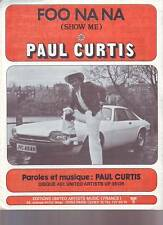 partition PAUL CURTIS foo na na (show me )