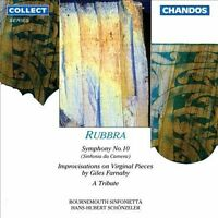 Rubbra: Symphony No.10; A Tribute; Improvisations on Virginal Pieces by Giles Fa