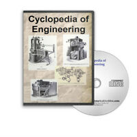 Cyclopedia of Engineering 7 Volume Set Engines Turbines Boilers More CD - D223