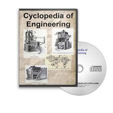 Cyclopedia of Engineering 7 Volume Set Engines Turbines Boilers More CD - D223