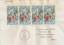 LETTRE T.A.A.F KERGUELEN POUR CANNES 1977