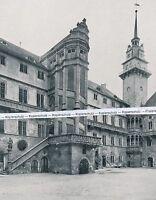 Torgau - Schloss Hartenfels - Innenhof - um 1910 - selten!  O 7-17