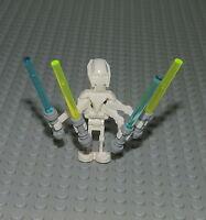 LEGO Star Wars Figur General Grievous aus 7656 inkl. 4 Lichtschwerter Fig SW111