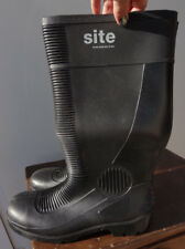 Site Trench Safety Toes S5 Black Wellington Boots Uk 9 - 43 BNIP