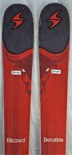 16-17 Blizzard Bonafide Used Men's Demo Skis w/Bindings Size 173cm #347287