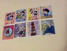 Bon Bon Magici di Lilly STAMP FRANCOBOLLI X8 Marvelous Melmo JAPAN OSAMU TEZUKA
