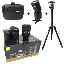 NUOVO Nikon D750 + 24-120mm Lens + KAMKORDA BORSA + TREPPIEDI + flash + Next Day del