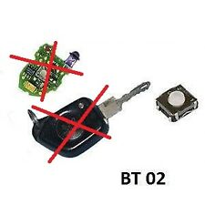 1 switch Bouton pour clé plip 106, 205, 305, 306, 405, ZX, BX,  XM, Xantia