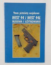 FIREARMS OWNER'S MANUAL POLISH RADOM PISTOL WIST 94 94L VIST 9mm POLAND BOOK