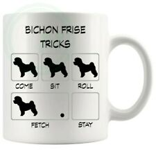 Bichon Frise Tricks Mug Gifts For Him Her Friends Colleagues