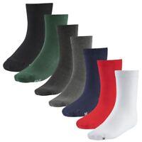 BANNER Boys Girls Kids School Socks Uniform 6 Pairs Plain Warm Cotton Rich Ankle