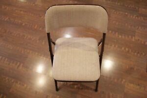 Vintage 1992 Samsonite Furniture 2900 Series Fabric Padded Chair