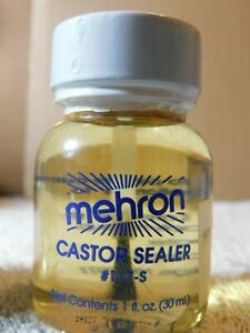 Shop~Mehron Castor Sealer #117-S 1 fl oz NEW