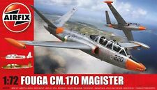 AIRFIX 1:72 Fouga CM.170 Magister Model Kit Plane A03050 NEW
