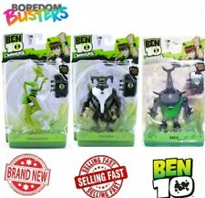 BEN 10 OMNIVERSE x all 3 new carded large talking figures RARE 2012 collectable