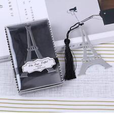Edelstahl Charm Eiffelturm Lesezeichen Metall  Bookmarks Geschenkidee