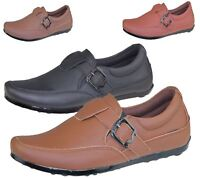 Mens Casual Slip On Loafers Smart Walking Comfort Driving Smart Shoes Size