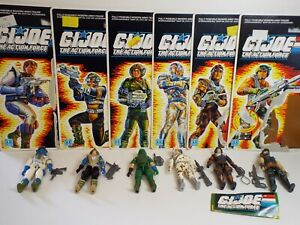 GIJoe Action Force 1980's Battle Force 2000 Complete set 1987 Series 6 Near mint