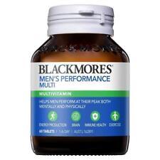 BLACKMORES MEN'S PERFORMANCE MULTI 60 TABLETS MENS MULTIVITAMIN ENERGY IMMUNE