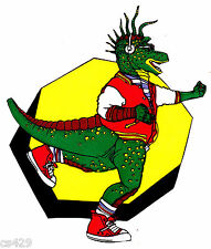 """5.5"""" DINOSAURS TV SHOW  SINCLAIR CHARACTER PREPASTED WALLPAPER BORDER CUT OUTS"""