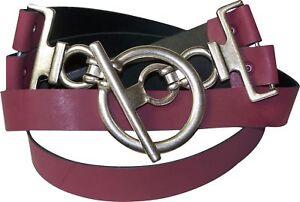 FRONHOFER Ceinture pour femme véritable ceinture en cuir ceinture de hanches