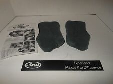 NEW Arai helmet replacement Cheek Pad Set for Chaser V & Vector -2