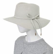 $440 GUCCI WOMEN'S HAT BEIGE RABBIT FUR FELT BOW DETAIL sz M / MEDIUM / 57