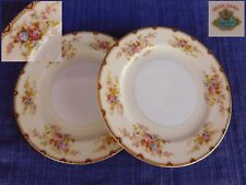 Meito NSP (2) BREAD PLATEs SET of TWO have more items Red & Gold Trim