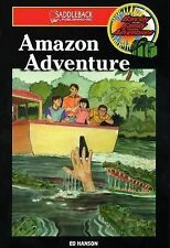 Amazon Adventure (Barclay Family Adventures)-ExLibrary