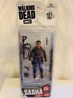 Walking Dead AMC Series 10 SASHA  Action Figure McFarlane Toys Walkers Zombie