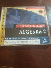 THE LEARNING COMPANY THE PRINCETON REVIEW ALGEBRA 2 SOFTWARE