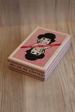 Jeu de 52 cartes Total - objet publicitaire vintage - neuf sous blister