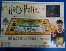 Puzzle 4D Harry Potter - The Wizard World 892 pcs New