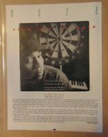 Vintage Early 1990's LL COOL J Rap Music Star Original Print Article Clipping